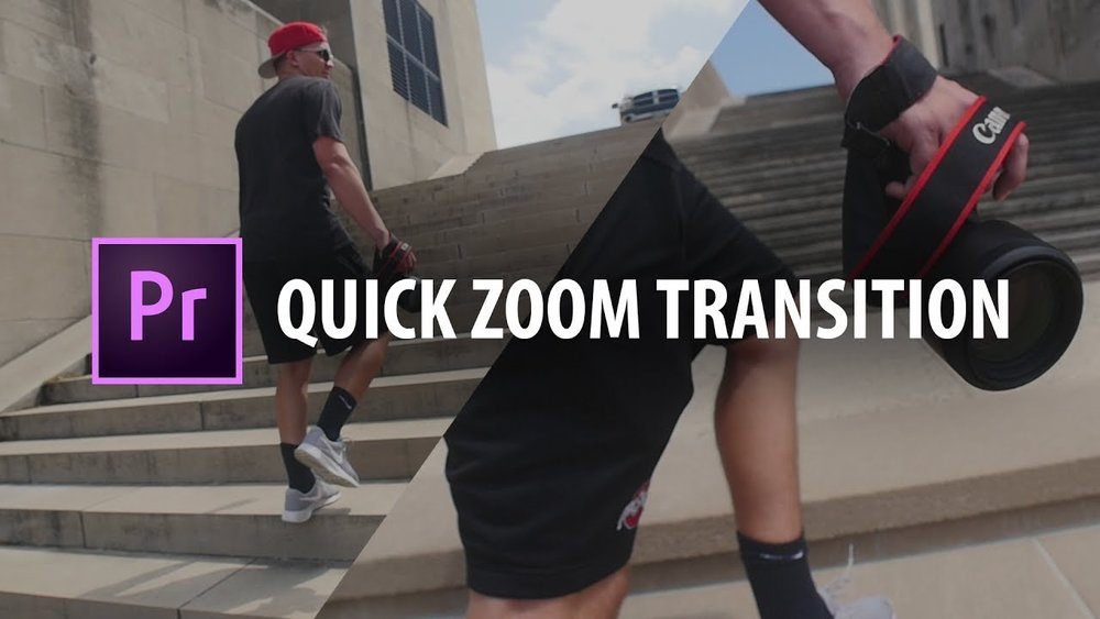 Kyler Holland: Quick Zoom Transition in Premiere Pro