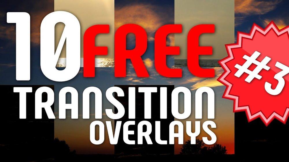 Orange 83: 10 Pack FREE Transition Matte Overlay Templates