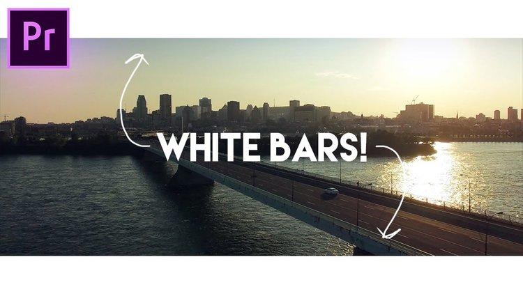 Premiere in post premiere bro justin odisho how to add white letterbox widescreen bars in adobe premiere pro spiritdancerdesigns Gallery