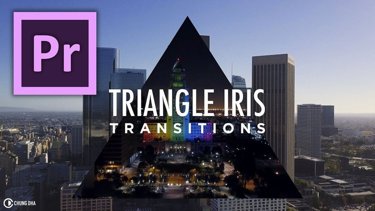 Chung Dha: Parallax Scroll Transition Preset for Premiere Pro