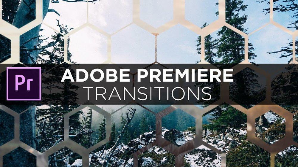 Tổng hợp Transitions (chuyển cảnh) cho Premiere (Presets + Templates)