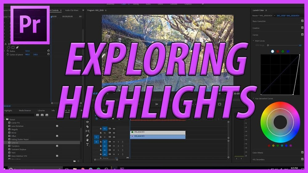 AdobeMasters: Further Exploring Highlight Effects in
