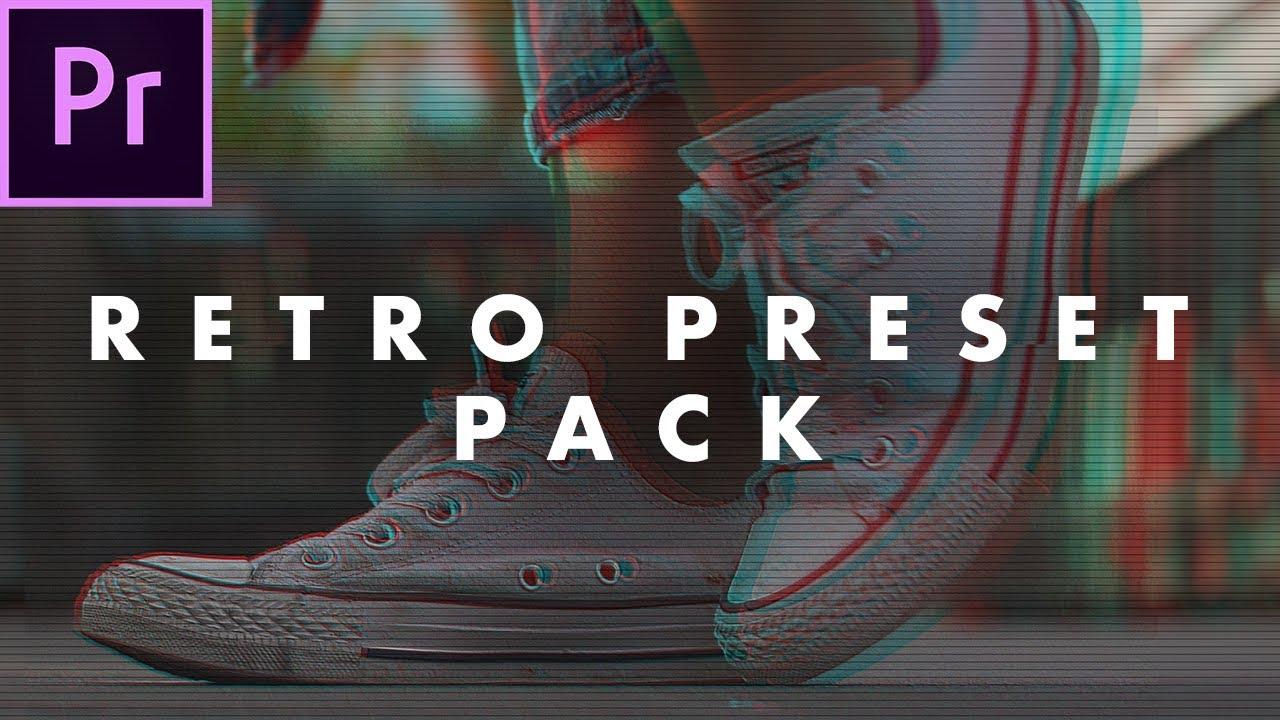 Austin Newman: Free Retro Look Preset Pack for Adobe Premiere Pro