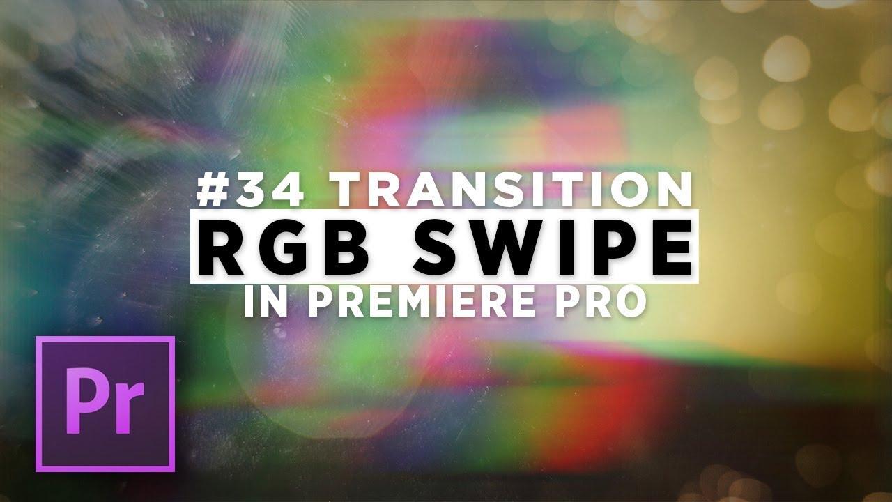 DOD Media: Create an RGB SWIPE Transition in Premiere Pro — Premiere Bro