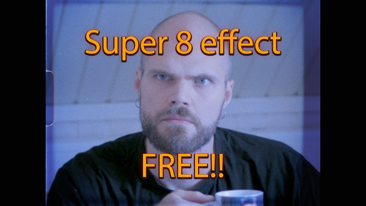 Standard Film Team: Free Super 8 Camera Effect for Premiere
