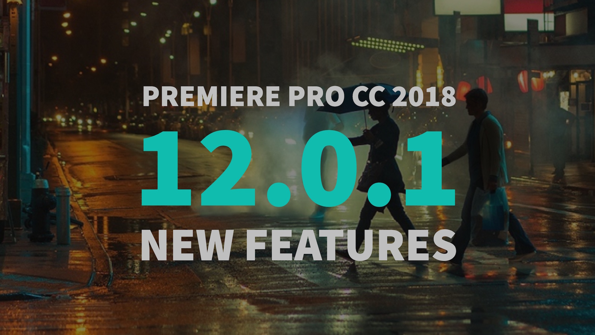 Premiere Pro 12 0 1 Update: Variable Frame Rate and New