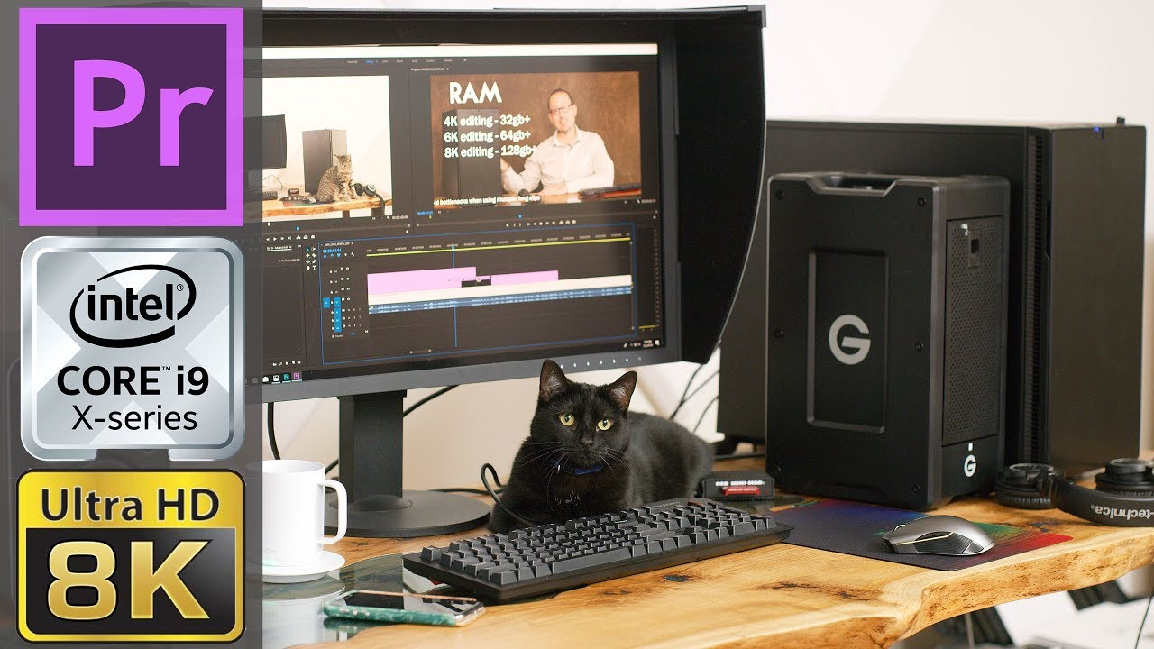 Matt Granger: The Ultimate Premiere Pro Video Editing Workstation