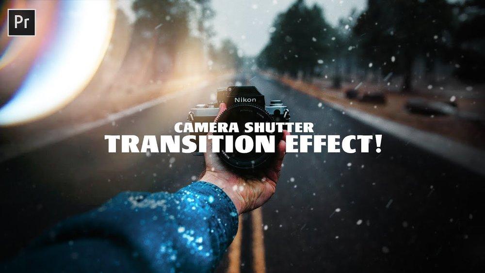 Adobe premiere pro cc tutorial camera flash transition (2018.