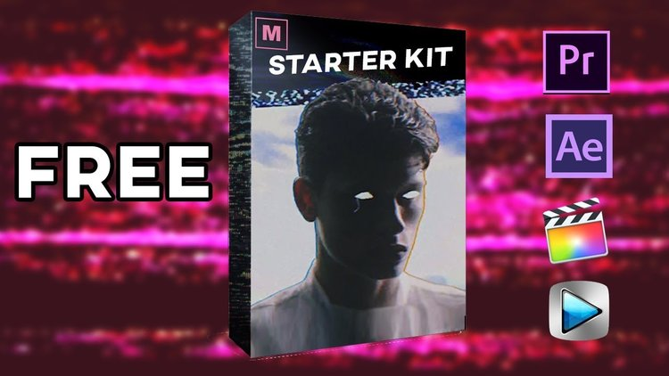 Max Novak: 20 FREE VHS / Film / Camera Overlay Pack