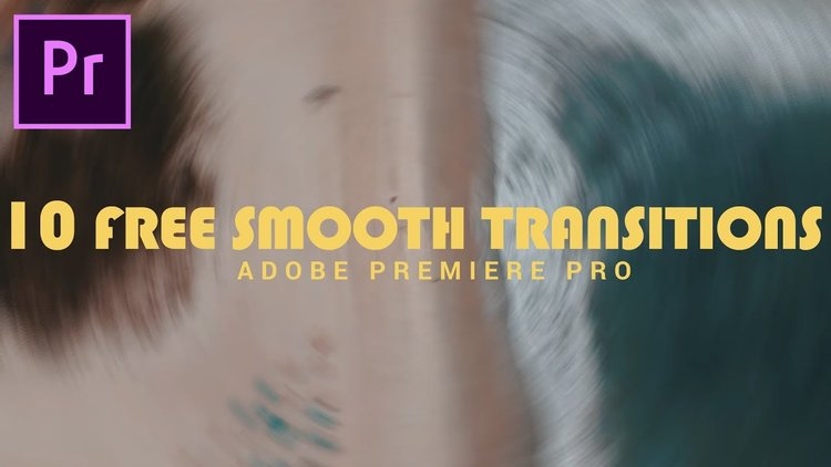 Orange83: Smooth Transition Preset 10 pack for Premiere Pro