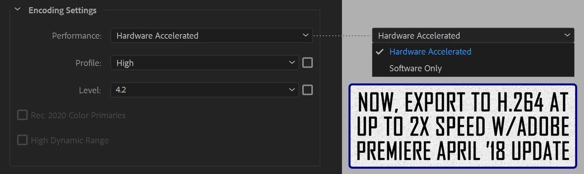 aescripts + aeplugins: AfterCodecs for Premiere Pro, Media Encoder