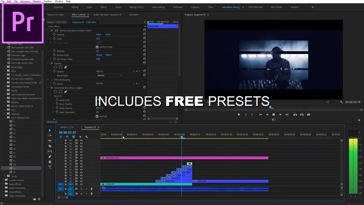 TheyCallMeCotton: 2 FREE Epic Music Video Effect Presets for