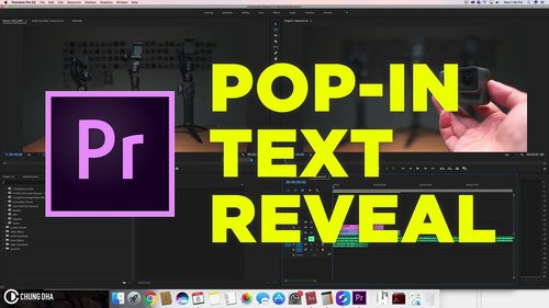 AdobeMasters: How to Use Adobe Premiere Pro's New Text Tool