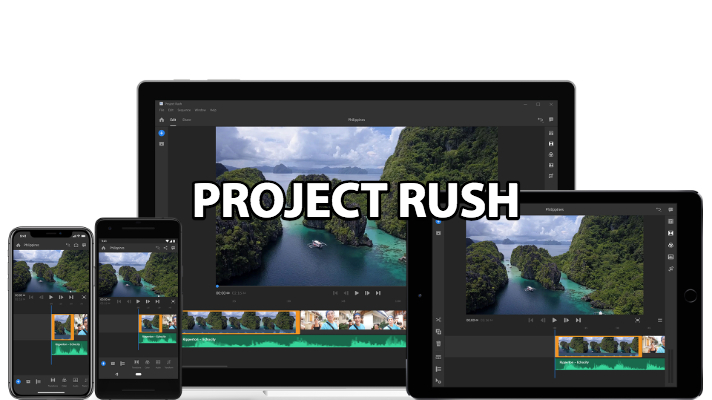 Welcome Project Rush: Adobe's New All-In-One, Cross-Device