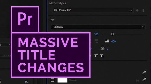adobemasters how to create scrolling credits with the text tool in