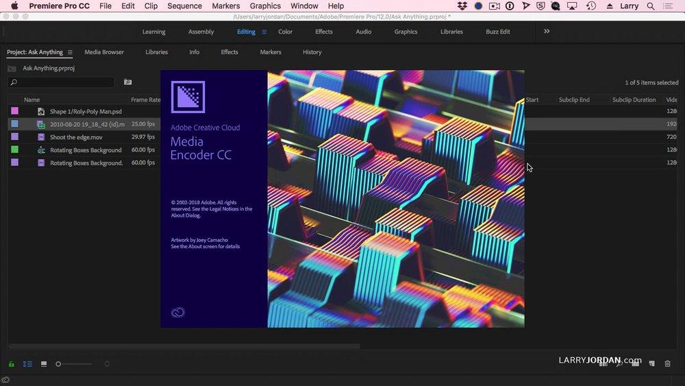 Workflow — Premiere Bro