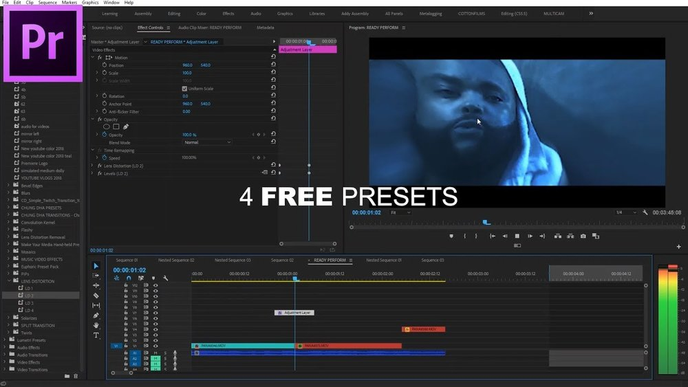 4 free lens distortion transitions for premiere pro premiere bro