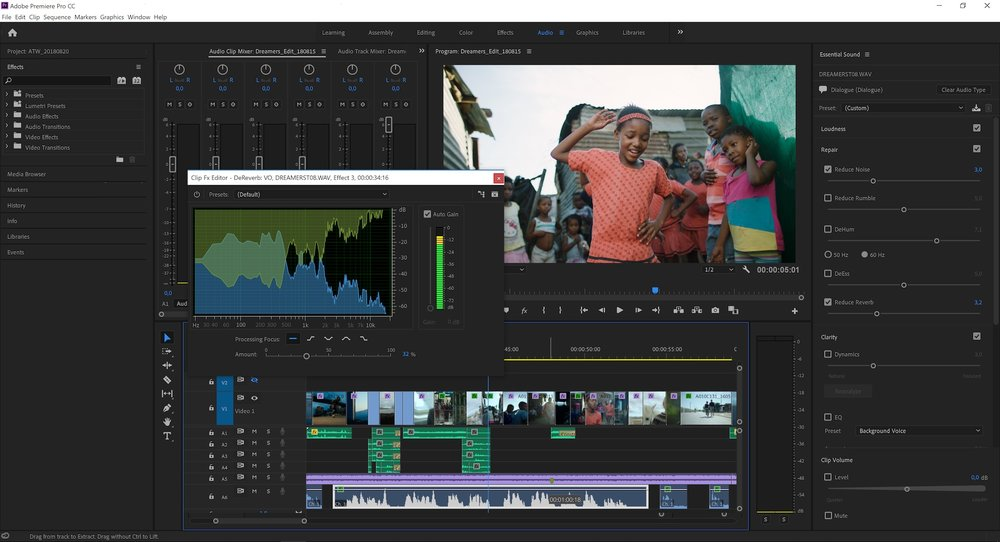 Resultado de imagen de Adobe Premiere Pro CC 2019