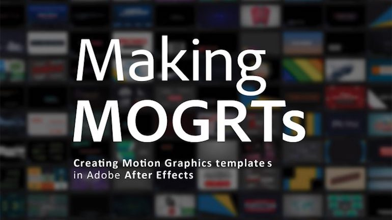Free eBook on Making MOGRTs