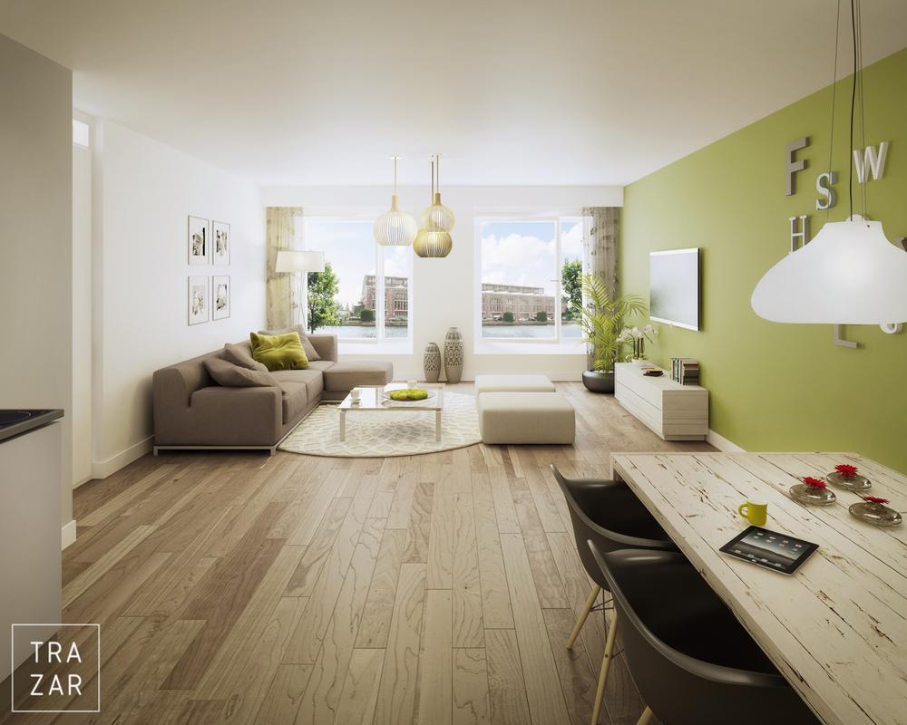interieur — Trazar | Artist Impressions | 3D visualisaties.