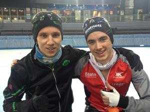 Simen og Jørgen fra 2012, fornøyde også dengang!