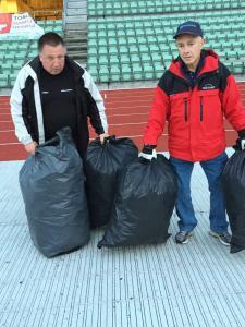 Henning Hagelund og Keith Price. (Foto: Hege Bratli)
