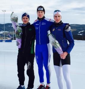 Pallen for gutta: Allan, Magnus og Vetle (foto. P.A Johansson)