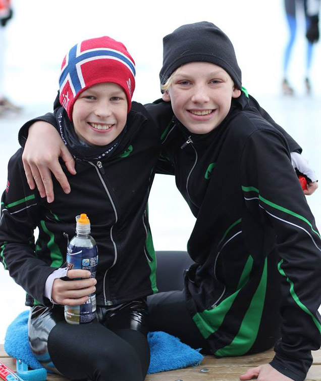 August Middelkoop og Viktor Smedstad Haukaas (Foto: Jo Wiklund)