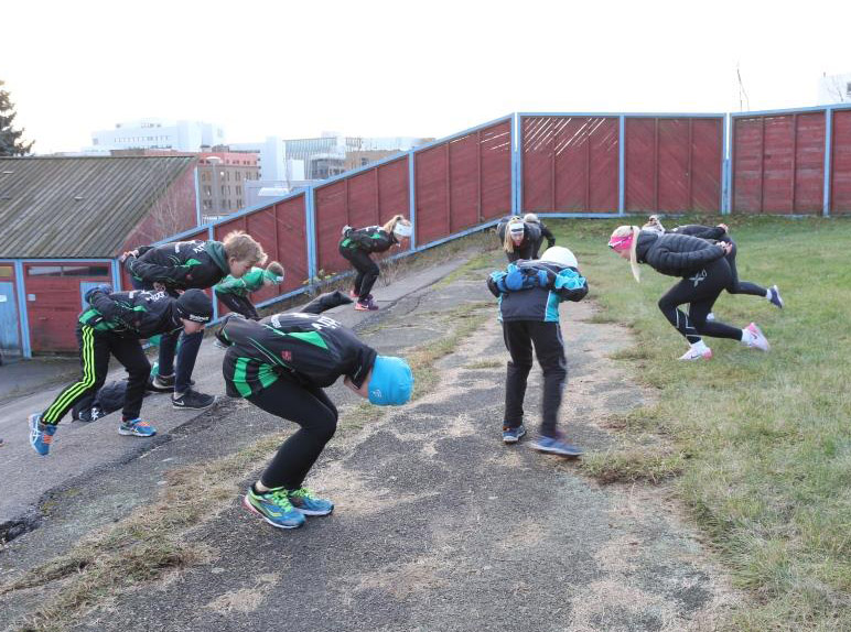 Immitasjonsøvelser (Foto: Jo Wiklund)