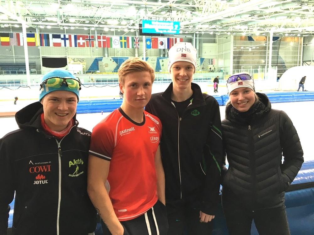 Håkon, Marius, Thomas og Ragne klare for innsats i Stavanger
