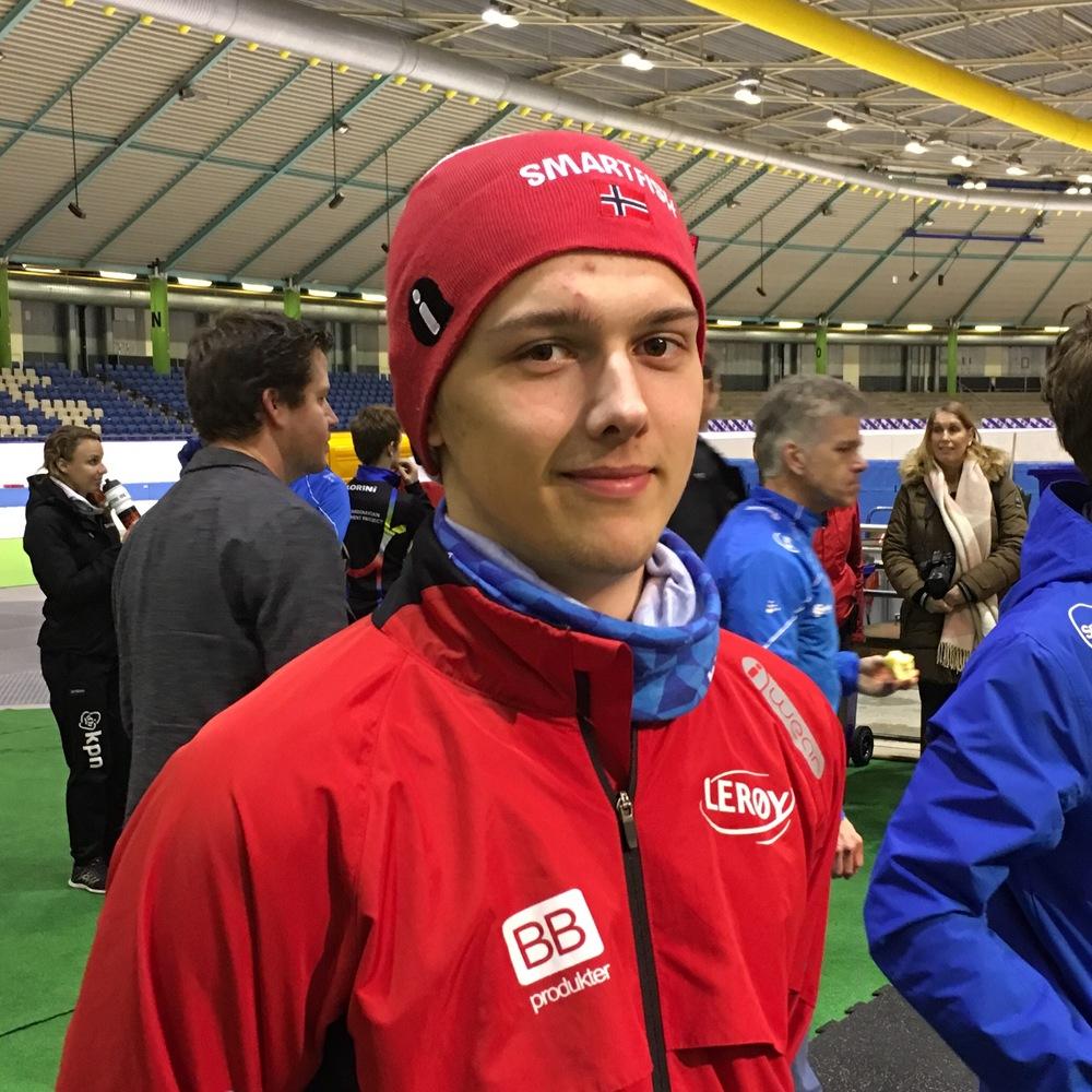 Allan med ny landsrekord sammenlagt og 2. plass i Vikingrace (foto Øivind Kristensen)
