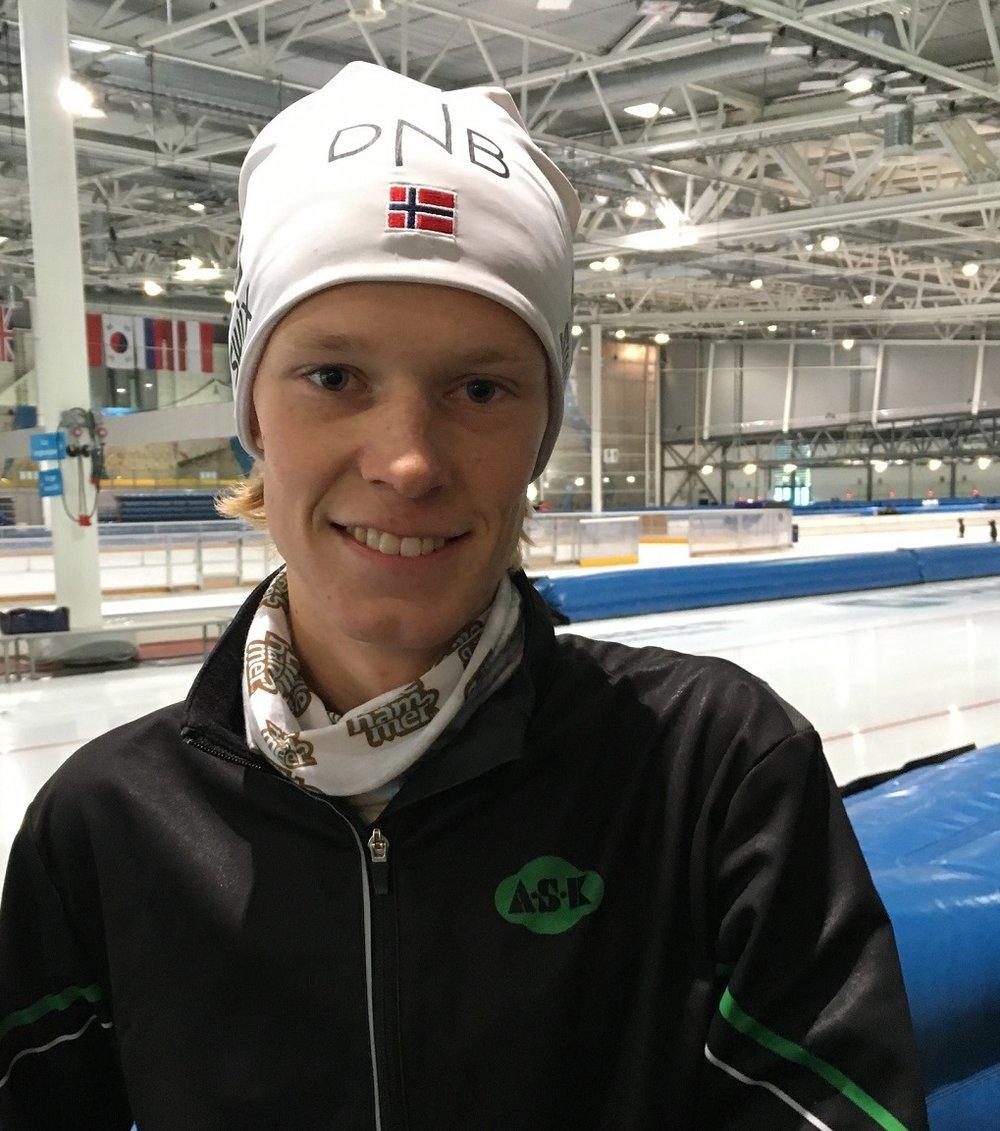 Dagens mann på 5000m - Thomas Lande Eriksen