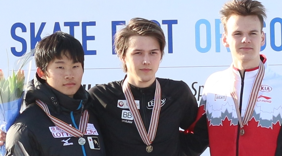 Allan etter gulløpet på 1000m