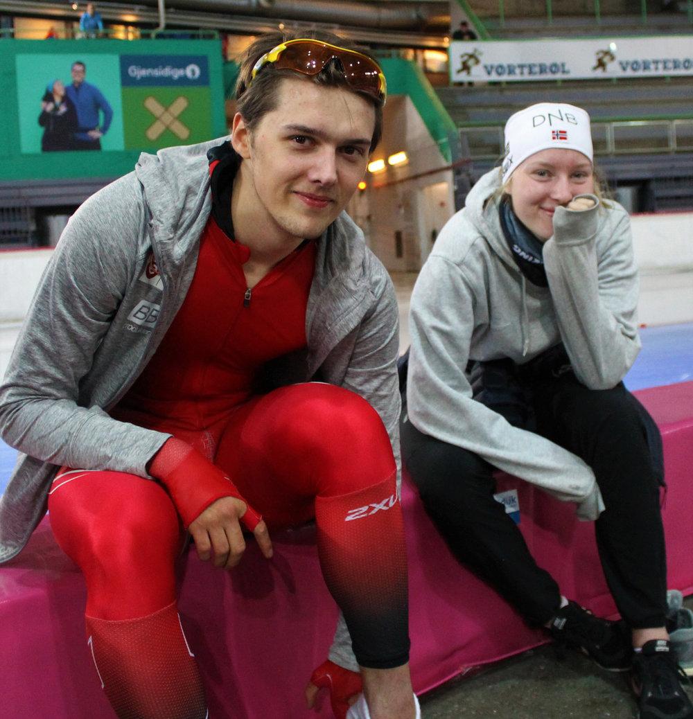 Allan og Ragne har grunn til å være fornøyde med innsatsen (Foto: P O Linnestad)