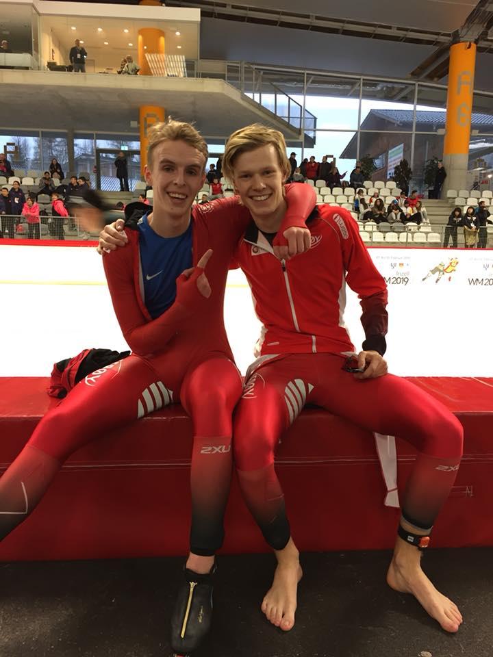 Thomas (til h.) og Hallgeir Engebråthen