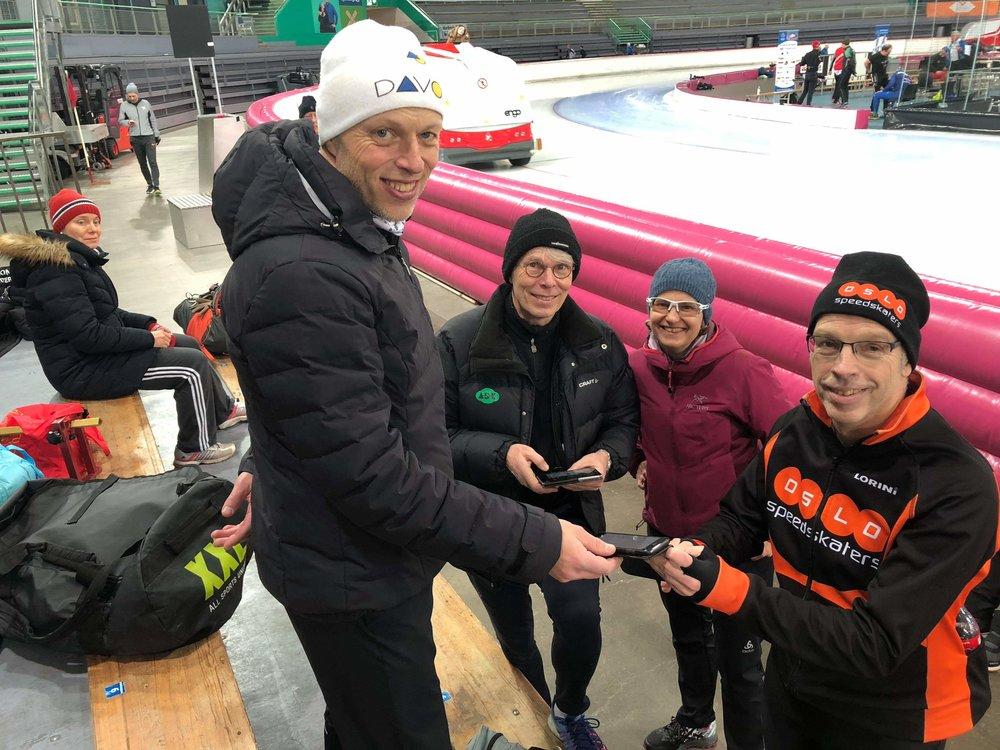 Fra venstre: Ivar Njøs, Snorre Kverndokk, Marja Haartsen og Gerrit Middelkoop