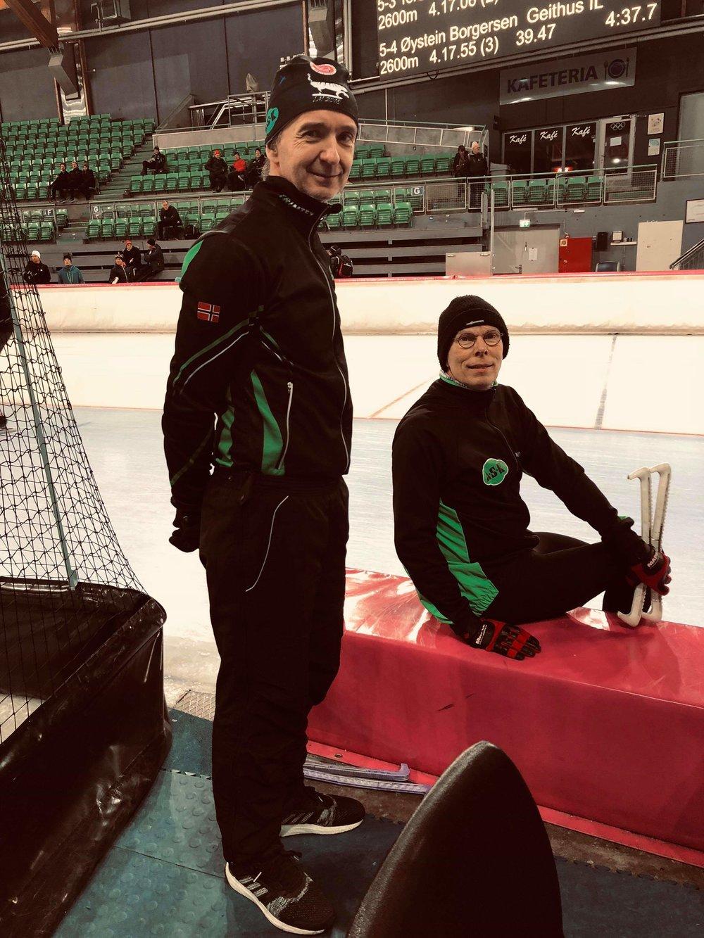 Kurt Feiring og Snorre Kverndokk