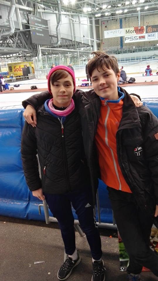 David Luangtep Vangen og Nils D'Alauzier (OSK)