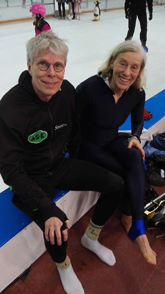 Snorre Kverndokk og Sara Hemmer