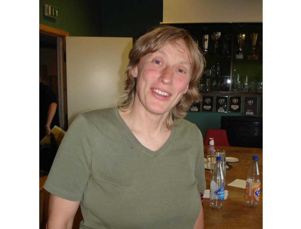 Sara Hemmer . Bildet er tatt noen år tilbake (Foto: Sven-Åge Svensson)