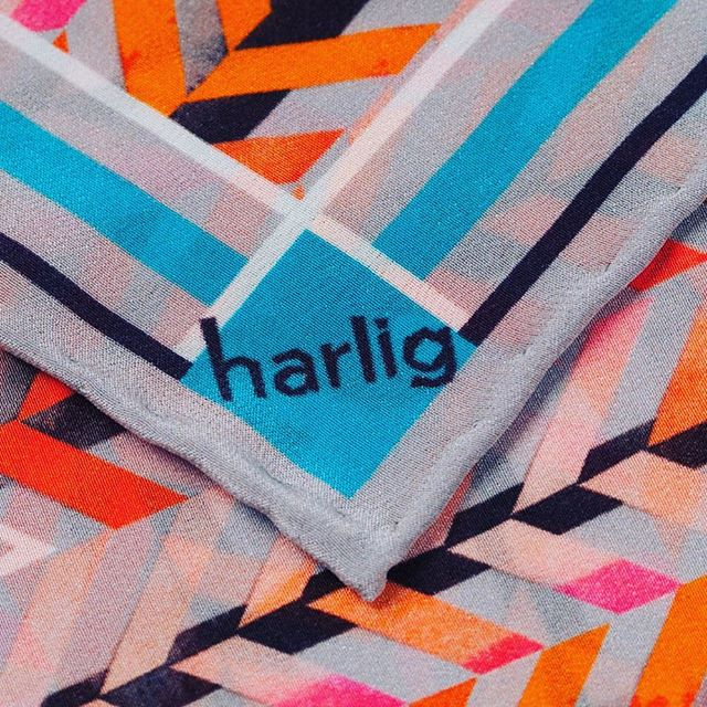 Don't miss out.... BIG Harlig news is on its way...sign up to our newsletter to be the first to hear (link in bio)! 📝#HarligLife #HarligHappenings . . . #love #designer #British #pink #ink #markmaking #textiles #fashion #art #scarf  #summer #handmade #herringbone #colour #instadaily #slowfashion #gift #present #silkscarf #pink #pattern #style