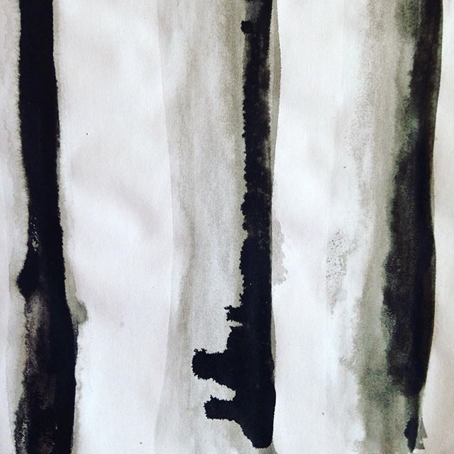 Some early inky simple #stripes #sketchbook work from the Harlig debut collection ⬛️⬜️⬛️⬜️ All our work is hand designed & painted #HarligLife . . . #sketch #designer #British #black #white #monochrome #ink #markmaking #textiles #art #scarf #bts #behindthescenes #studio #summer #handmade #colour #picoftheday #slowfashion #gift #present #silkscarf #love #fashion #pattern #style #humpday