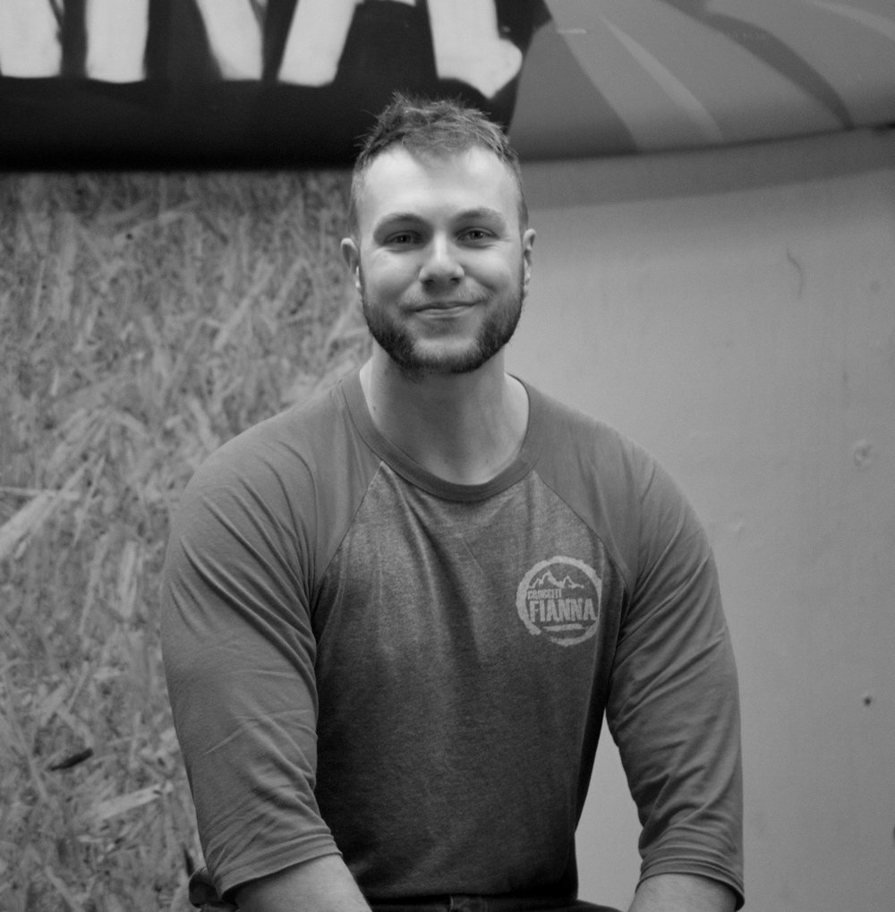 Grant Moran   Grant is the founder and head coach at CrossFit Fianna. Chatty and outgoing, Grant always knows where all the members are at in life. There is always some banter when Grant is coaching and he always has the class energized and ready to attack the workout. He studied strength and conditioning at the University of Limerick and he is an avid rugby player for Monkstown in Dublin. Grant has completed the CrossFit Level 2 Certificate.