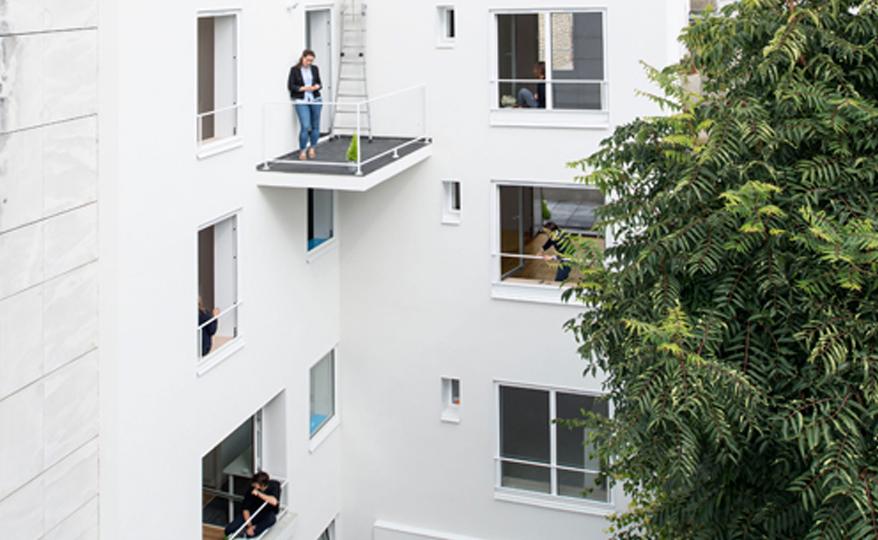 6 Logements - ELOGIE / Paris