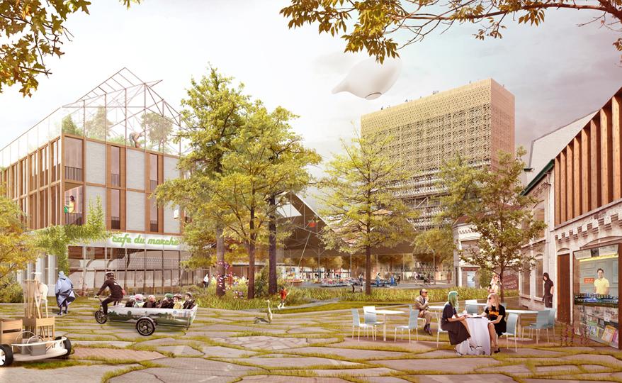 Renaissance - quartier Muyssaert |   EDF Bas Carbone  | Lille  |  Recherche