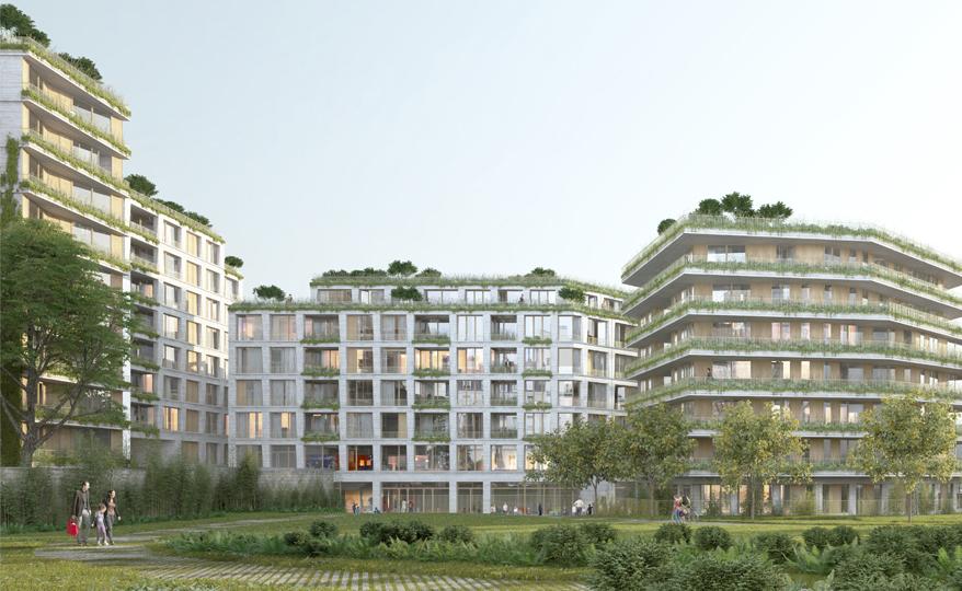 95 logements et une crèche | Logis-Transport| Paris