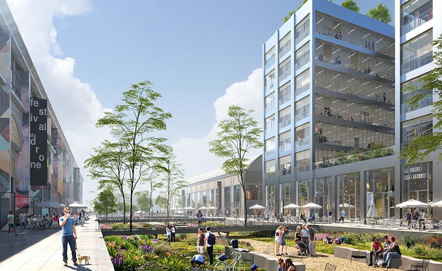 Pôle Gare des Ardoines |  Inventer la Métropole du Grand Paris 2017  |  Concours lauréat