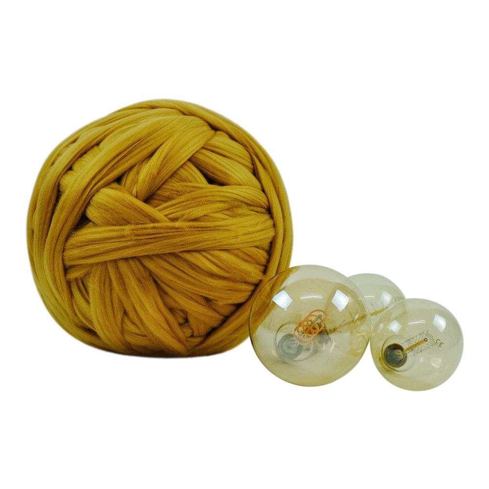mustard 1 kg extreme knitting ohhio yarn.jpg