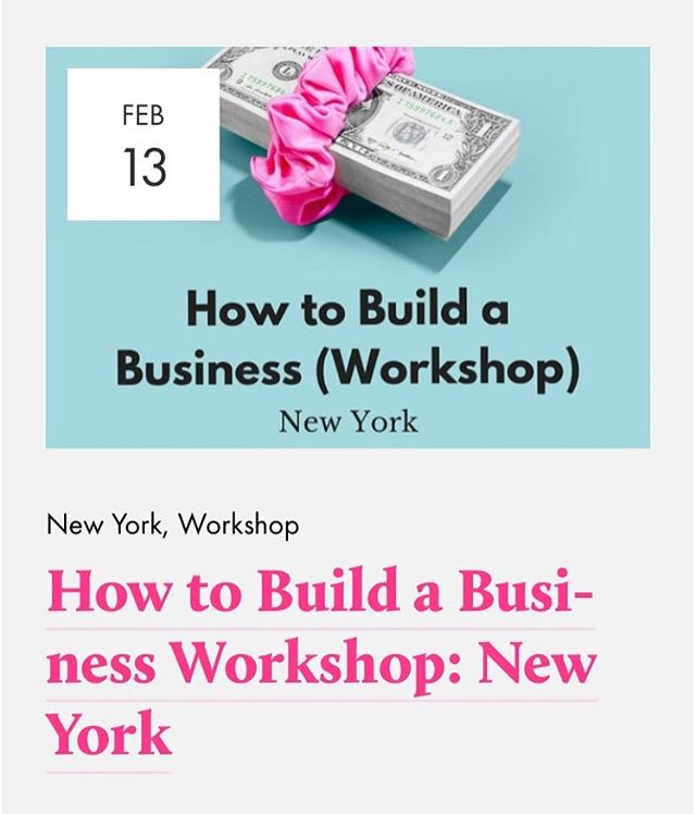In New York? Got a business idea that your feeling feels about? Looking for clarity, validation and a sense of how to move forward in a way that feels right? Join our founder @alisongilbert who will share insights from her over 10 years of working with 50+ early-stage entrepreneurs on how to build a business that feels right and will grow. Only a few spots left, link in bio ✨✨.
