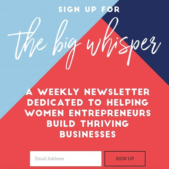 Have you signed up for our newsletter yet? Go for it: project-Ag.co/thebigwhisper (link also in bio!) - - - Each week we share stories, curated articles, and tools to help rising female entrepreneurs build businesses that thrive. . . . #femaleentrepreneur #womenhelpingwomen #bettertogether #thebigwhisper #thinkbigandbuild